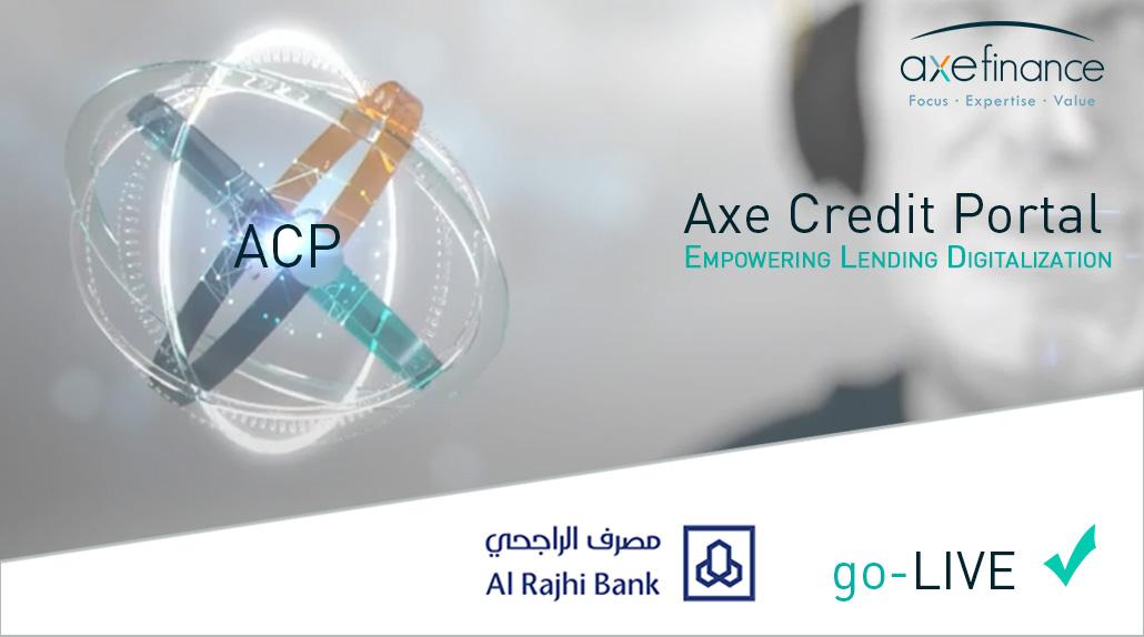 Al Rajhi Bank axefinance go_live